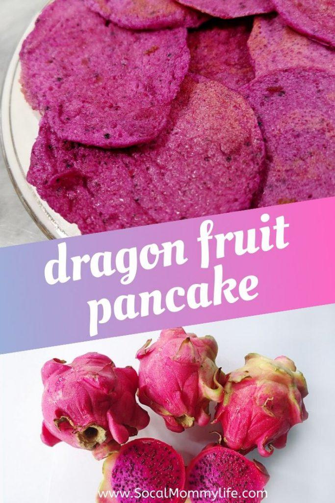 dragon fruit pancake recipe
