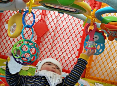 Bright starts links best toy for infant stimulation and sensory