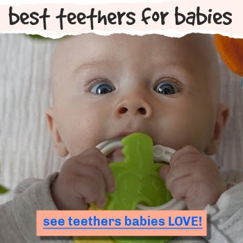 best teethers for babies 0-3 months