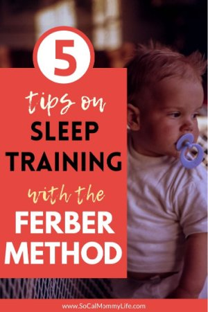 how to sleep train baby with ferber method