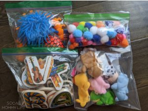 how to organize small baby toys