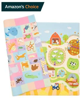 rolling baby play mat