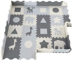 non toxic baby puzzle play mat