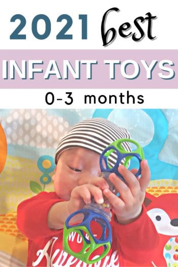 best toys for 0-3 months old