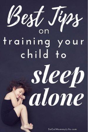 train child to sleep alone