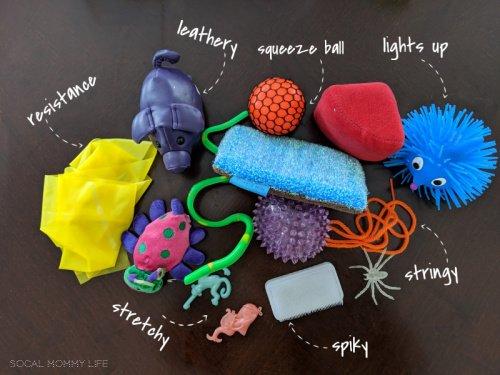 toddler sensory box