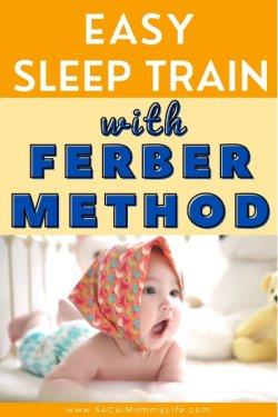 ferberizing baby sleep training