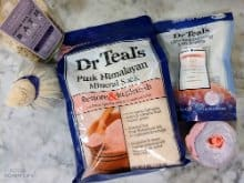 pregnancy survival kit and mom to be care package - epsom salt