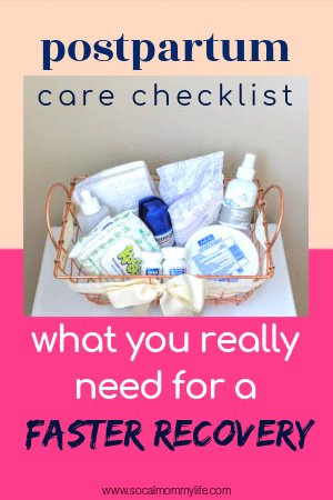 postpartum care essentials for mom