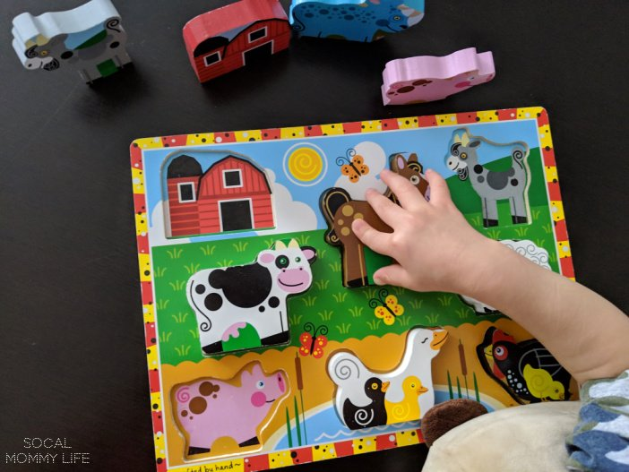 melissa doug puzzle fine motor for toddler