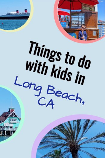 kids travel long beach