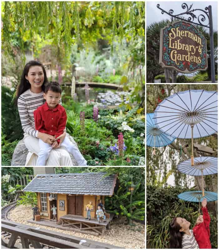 Sherman library garden to take with kids